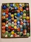 Antique Vintage Marbles including Akro, Peltier, Vitro and more/ Lot Of 85