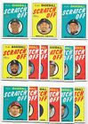 2019 Topps Heritage High Number 1970 SCRATCH-OFF Complete 15 CARD SET JUDGE