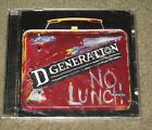 D Generation - No Lunch (CD, 1996, Columbia) Jesse Malin