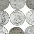 5 US American Peace Silver Dollars 1922 1925 Eagle Rev 90 5 Face 1 4 Roll