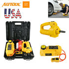 Autool 5ton 6ton Electric Hydraulic Jackelectric Wrench Car Lifting Repair Suit