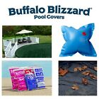 Buffalo Blizzard SUPREME Swimming Pool Winter Cover  Leaf Net w Package Kit