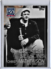 Christy Mathewson Cards and Autograph Guide 8