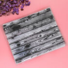 Clear Stamp Wood Grain Rubber Silicone Seal Scrapbooking Paper Card Craft Decor