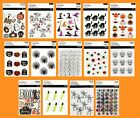 U CHOOSE Recollections HALLOWEEN Stickers Pumpkin Cat Witch Skull Skeleton Ghost