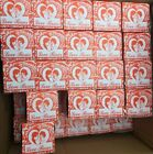 4 Boxes of 36 Total  144 LOVE ROSE GLASS TUBE