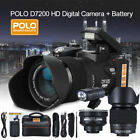 FULL HD1080P 33MP 8X ZOOM 24X Telephoto Lens Digital Camera Video Camcorder N8G9
