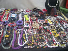 HUGE LOT OF VINTAGE NOW COSTUME JEWELRY COLORFUL NICE PIECES VARIETY