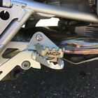 BMW R1200GS 05/12 Rear Brake Pedal Extender. Zinc Coated.