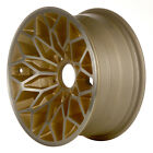 01213 Used 15X7 Alloy Wheel Rim Bright Gold Painted with Machined Face