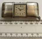Bulova Solid Silver Vintage Early 1920s Purse Watch Art Deco Fully Working