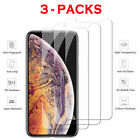3 Pack For iPhone 11 Pro 6s 7 8 + Lot X X Max XR Tempered GLASS Screen Protector
