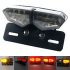 Motorcycle LED Brake Light Integrated Turn Signal License Plate Lamp for Suzuki