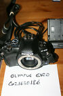 FAULTY Olympus E-420 10.0MP Digital SLR Camera Body & Charger - SPARES/REPAIRS