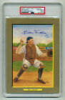 AUTOGRAPHED BILL DICKEY PEREZ STEELE GREAT MOMENTS PSA DNA SLABBED