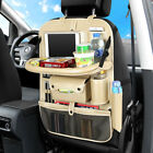 Car Seat Organizer Backseat Pocket with Tablet Holder with 4 USB Charging Port