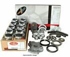 Enginetech Rcc292bp Engine Rebuild Overhaul Kit Pistons Chrome Rings Gaskets