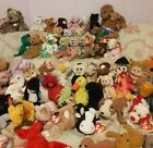 87 HUGE LOT of Ty Beanie Babies and Buddies Lot of 87