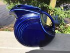 Fiesta Vintage Cobalt Blue 64Oz Large Water Disk Pitcher Fiestaware