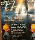 6 Ultra Pro UV Baseball Cube case Holder with stand New Ball Cubes 6X