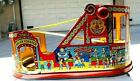 Chein vintage toy metal Roller Coaster with original car
