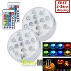 2XLed Light+2X Remote Control Color Colored Boundery Style Waterproof Efx Accent