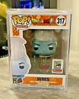 SDCC 2018 FUNKO POP FUNIMATION DRAGON BALL METALLIC WHIS with Protector