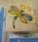 WHIMSICAL DRAGONFLY MW RUBBER STAMP RUBBER STAMPEDE