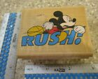 RUSH MICKEY MOUSE MW RUBBER STAMP RUBBER STAMPEDE