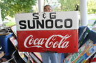 Vintage 1950's Coca Cola Sunoco Gas Station Soda Pop 43