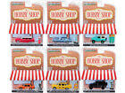 THE HOBBY SHOP SERIES 7 SET OF 6 CARS 1 64 DIECAST MODELS BY GREENLIGHT 97070