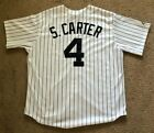 AUTHENTIC MAJESTIC JAY-Z S.CARTER #4 NEW YORK YANKEES JERSEY SIZE L XL XXL *NWT*