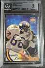 Randy Moss 1998 RC BGS 9 Topps Stars Silver Rookie High Subs Best in Pop Rep