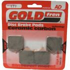 Front Disc Brake Pads for Benelli BX Motard 570 2009 570cc  By GOLDfren
