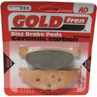 Rear Disc Brake Pads for MBK YP 400 Skyliner 2004 400cc  By GOLDfren