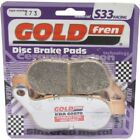 Rear Disc Brake Pads for Harley Davidson FXCWC Rocker C 2010 1584cc  By GOLDfren