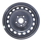 69893 Refinished Volkswagen Rabbit 2006 2009 15 inch Black Steel Wheel Rim