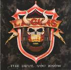 L.A. GUNS - THE DEVIL YOU KNOW (+1 Bonus)(2018) CD Jewel Case by Irond+GIFT