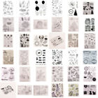 Christmas Transparent Clear Silicone Stamp Stamps Seal Scrapbooking Card Craft