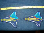 Lot of 2 NASA SPACE SHUTTLE COLUMBIA STS 107 5 PATCH PATCHES