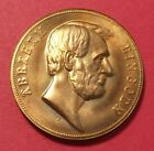 Abraham lincoln President of The United States Inagural Token Coin Copper