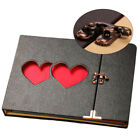 Love Heart Sticky Collection Storage Travel Memory Craft Hollow Out Photo Album