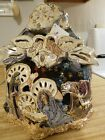 Heather Goldminc Large ROYAL Collection MANGER Nativity Christmas Blue Sky Read