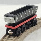 Thomas the Train HECTOR coal car Wooden Railway Toy Learning Curve 2003