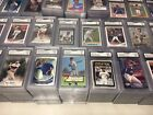 SUPER AMAZING BOX OF 10 GRADED SPORTS CARDS + 1000 RANDOM SPORTS CARDS