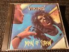 Viking - Man Of Straw - mega rare 1989 Caroline CD orig press - thrash metal