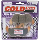 Front Disc Brake Pads for BMW R850GS 1997 848cc By GOLDfren
