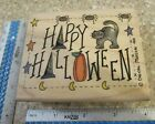 HAPPY HALLOWEEN MW RUBBER STAMP STAMPASSIONS