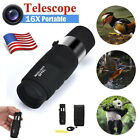 Super High Power 16X40 Portable HD OPTICS BAK4 Night Vision Monocular Telescope