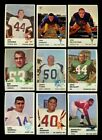 LOT OF (300) ASSORTED 1961 FLEER FOOTBALL CARDS (VG - VGEX) *GMCARDS*